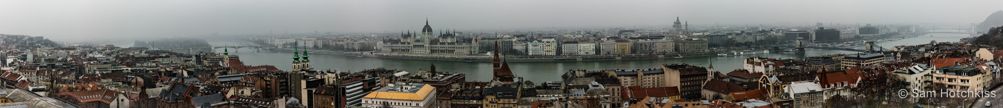 Superpanorama of Budapest