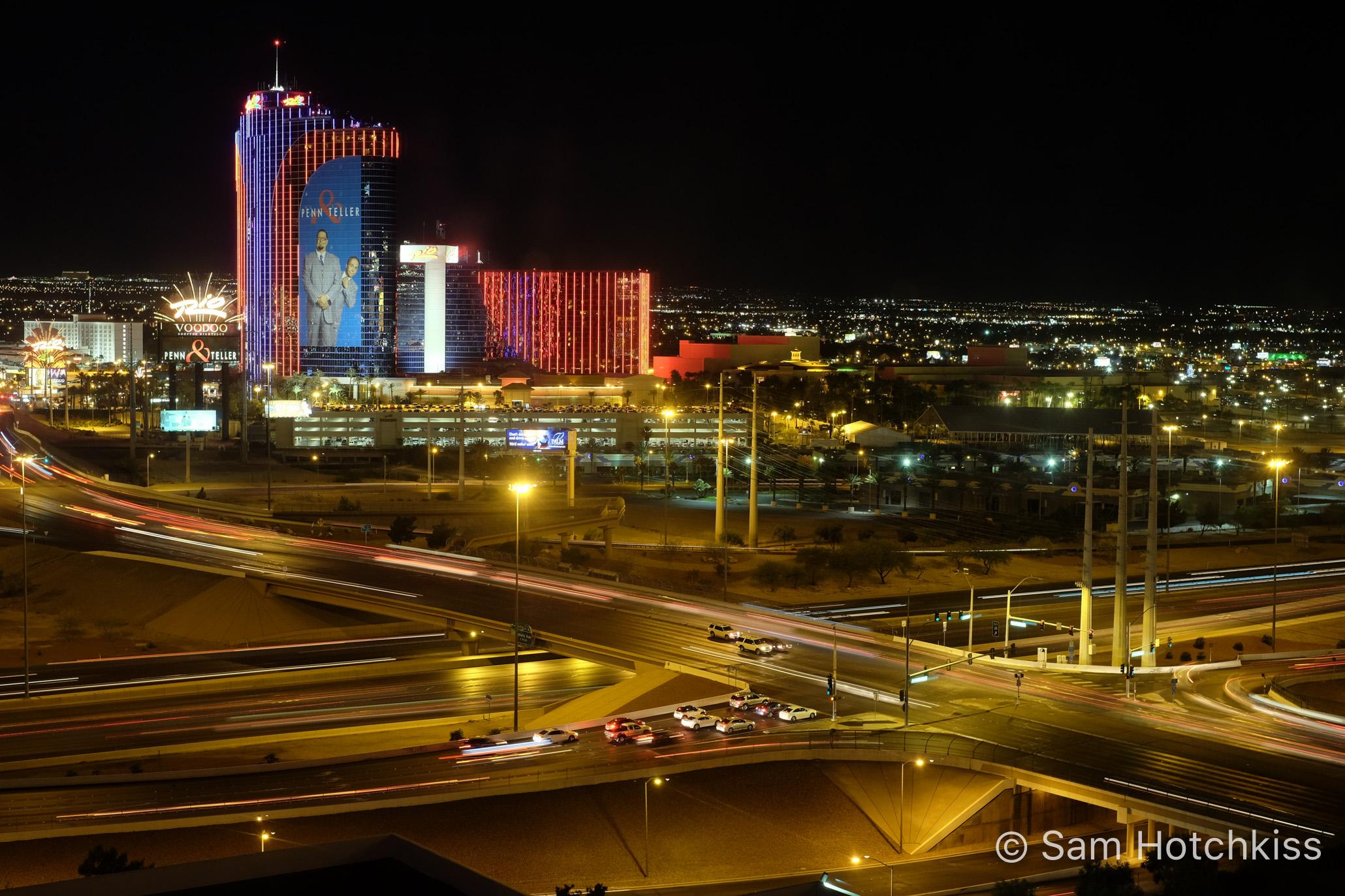 Vegas at Night